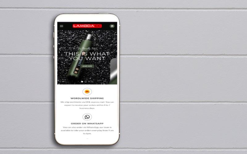 LAmbda CC mobile ecommercepro